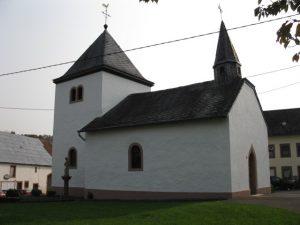 Kapelle Brecht - Sicht Hauptstraße
