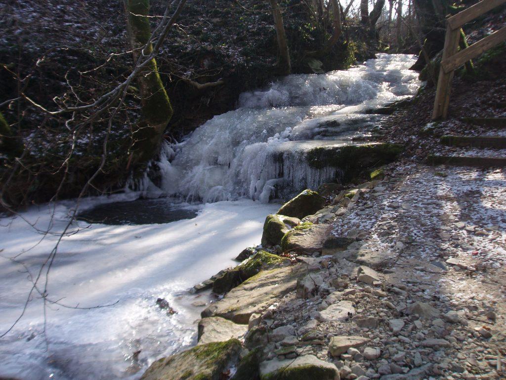 Langertbach eingefroren